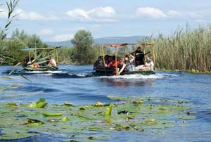 The nature park Hutovo blato